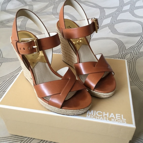 9e6f783babd Michael Kors Viola Espadrille Wedge Sandals